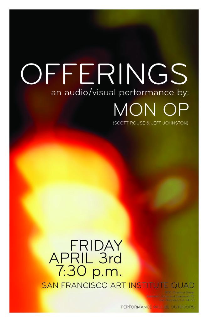 OFFERINGS-11X17